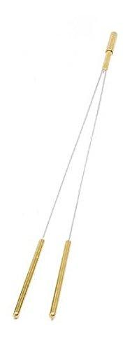 dsnetz Wünschelrute mit Messing-Griff 42,5 cm | Radiästhesie Tesnsoren Pendel Ruten | Esoterik Geschenke günstig online kaufen