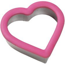 Heart Shaped Cutter - Pastry Brownie Craft Sandwich Biscuit (Brownie-cutter)