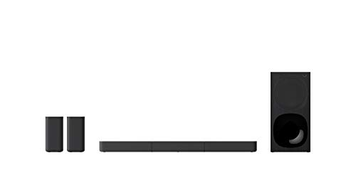 Oferta de Sony HT-S20R - Barra de Sonido (5.1 Canales, Bluetooth, 400 W, USB, HDMI ARC, Conexiones ópticas y analógicas, Sonido de Cine) Negro