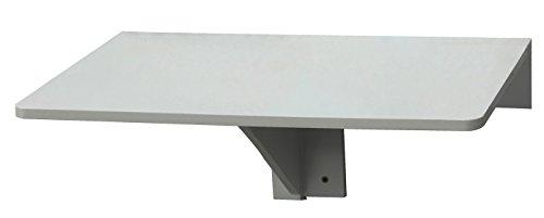 Orolay Mesa de cocina mesa de madera mesa plegable de pared mesa de comedor escritorio (Blanco)