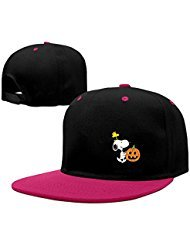 kin Comic Strip Peanuts Snoopy Fitted Hats ()