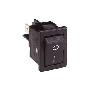 SWITCH, ANTIBACTERIAL, DPST, BLACK H8550VBACAB By ARCOLECTRIC