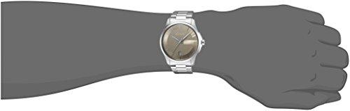Gucci Unisex Watch Herrenuhren Quarzuhr mit Metallband G-TIMELESS Analog Quarz Edelstahl Braun (Silber) YA126445 - 2