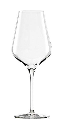 Stölzle Lausitz - Copas para vino tinto Quatrophil, de 568 ml, parecen sopladas artesanalmente, aptas para lavavajillas