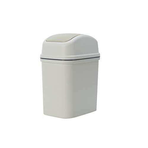 FKYGDQ Mülleimer schütteln, schmaler Hausmüll, verschraubter Papierkorb, Verschiedene Größen Mülleimer (größe : 13.3×19.4×29.8cm)
