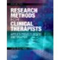 Research Methods for Clinical Therapists: Applied Project Design and Analysis, 5e 5th Edition by Hicks BA MA PhD PGCE CPsychol, Carolyn M. (2009) Paperback