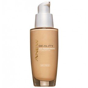 Avon NEU age-transforming Foundation Natural Beige 30 ml (Beige Natural Foundation)
