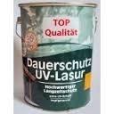 Genius Pro Dauerschutz UV-Lasur Farbton Ebenholz 2,5 L tropfgehemmt, Profi Dickschichtlasur auf Lösemittelbasis v. Holzfachhandel, mit sehr hohem UV-Schutz