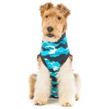 Suitical Recovery - Traje para perro, tamaño mediano, color azul camuflaje