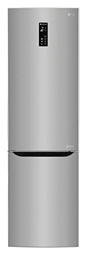 LG GBP20PZQFS Freestanding 343L A+++ Stainless steel fridge-freezer - Fridge-Freezers (343 L, SN-T, 14 kg/24h, A+++, Fresh zone compartment, Stainless steel)