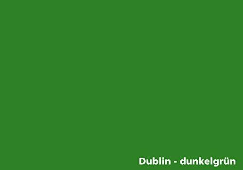 Tonkarton - Tonpapier - Tonzeichenpapier - 100 Blatt DIN A3-160g/m² Farbe: Dublin-dunkelgrün