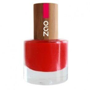 ZAO Nagellack 650 rot mit Bambus-Deckel (Naturkosmetik)
