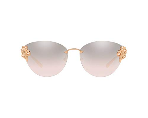 Ray-Ban Damen 0VE2196B Sonnenbrille, Rose Gold, 58