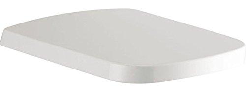 Ideal Standard WC-Sitz SIMPLYU Mia mit Softclosing aus Kunststoff, mit Deckel, Scharnnier aus Edelstahl, weiß, J469701 (Standard Toilette)