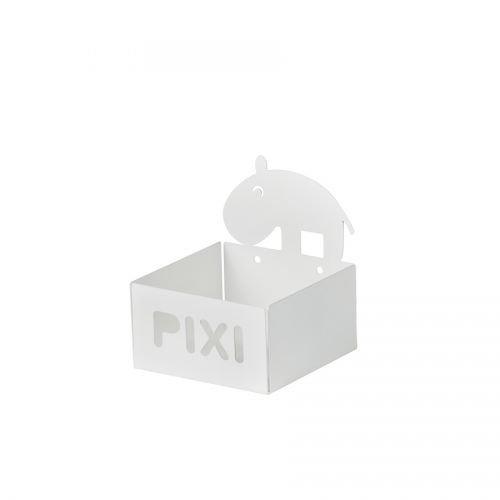 Preisvergleich Produktbild Pixi Bücher Regal, Pixi Aufbewahrung, Ordnung, von Done by Deer (weiß)