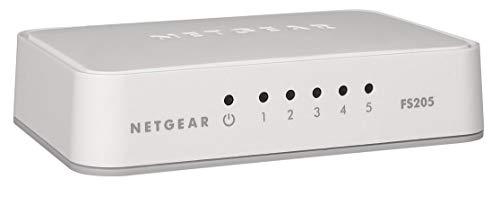 Netgear FS205-100PES - Switch 5 Puertos Fast Ethernet