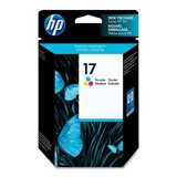 Preisvergleich Produktbild - Original Tintenpatrone dreifarbig HP 17
