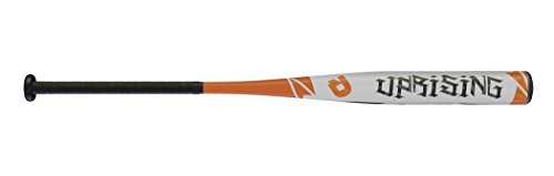WILSON DeMarini 2016 Aufstand Fastpitch Softball Bat, Weiß/Orange/Schwarz (Demarini Softball Bat)