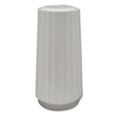 MKL15048 - Classic White Disposable Salt Shakers by Diamond Collection - Crystal Salt Shaker