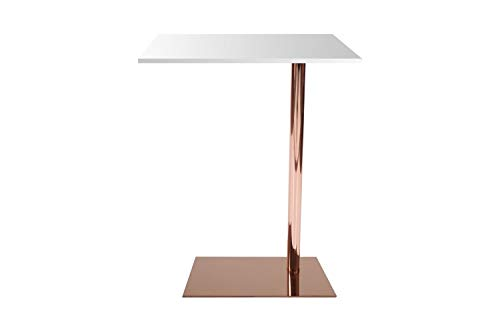tableaux Table d'appoint rectangulaire luxe table Table basse blanc cuivre