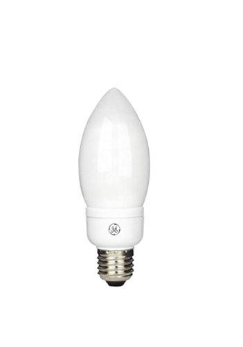 GE 11w Kerze Lampe ES E27 CFL 2700k 827 warmweiß 580lm Energiespar Kerzenlampe -