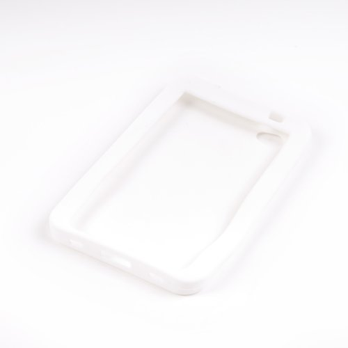 NFE White Silicon Case für Samsung P1000 Galaxy TAB (P1000 Samsung Case)