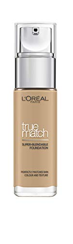L'Oreal Paris True Match Liquid Foundation, D3W3 Golden Beige, 30ml