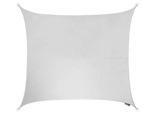Kookaburra 3,6 m quadrato bianco polare traspirante per tenda parasole a vela (in maglia 185 g) gazebo sail chaseley canopy