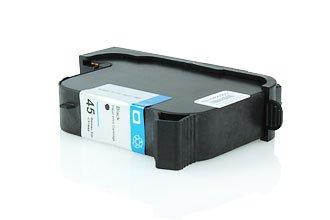 Akia–W 990Series–Kartusche kompatibel zu HP 51645AE/45–Schwarz