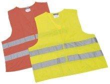 Preisvergleich Produktbild Leina Werke 13101 Pannenwarnweste Polyester im Beutel, Gelb