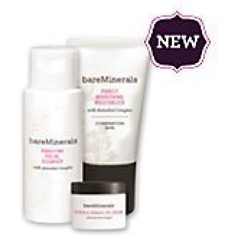 Bare Escentuals Bareminerals Daily Skin Renewing Trio- Combination Skin by
