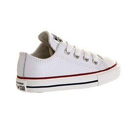 Converse  Chuck Taylor All Star Core Ox,  Unisex Kinder Kurzschaft Stiefel White