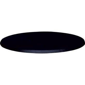 Werzalit Plus CC512piano tavolo rotondo 600 nero
