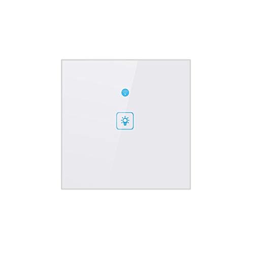 Docooler WiFi Interruptor táctil Inteligente Interruptor de Pared Luz Interruptor de Pantalla...
