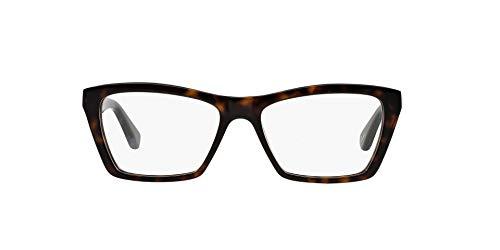 Ray-Ban Damen RX5316 Brillengestell, DARK HAVANA, 53