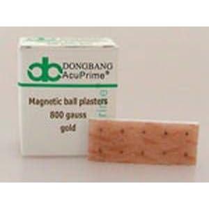 Magnetische Ohrkugel – Magnetkügelchen – Ohr-Kugelpflaster – DongBang – gold 800 Gauss
