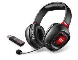 Creative Labs Sound Blaster Tactic3D Rage Wireless Stereophonisch Kopfband Schwarz Kopfhörer und Headset Creative Labs Stereo-headset