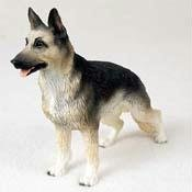 German Shepherd, Black/Tan Original Dog Figurine (4in-5in) by Conversation Concepts -