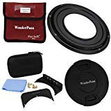 WonderPana FreeArc 82mm Step-Up Ring Kit from Fotodiox Pro, Anodized Black Metal Aluminum Step Up Ring for 82mm Lens Threads to 145mm WonderPana145 Round Filters and WonderPana66 6.6