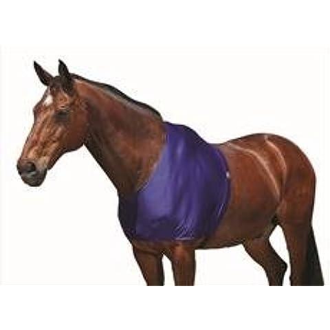 Weatherbeeta Stretch Spalla Protezione, Navy, Pony