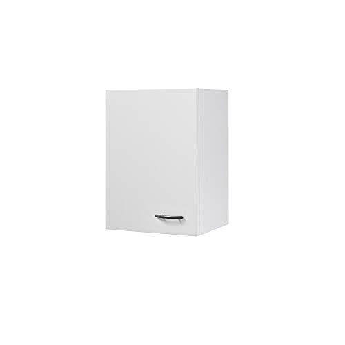 Flex-Well Küchen-Hängeschrank UNNA | Oberschrank vielseitig einsetzbar | 1-türig | Breite 40 cm | Weiß