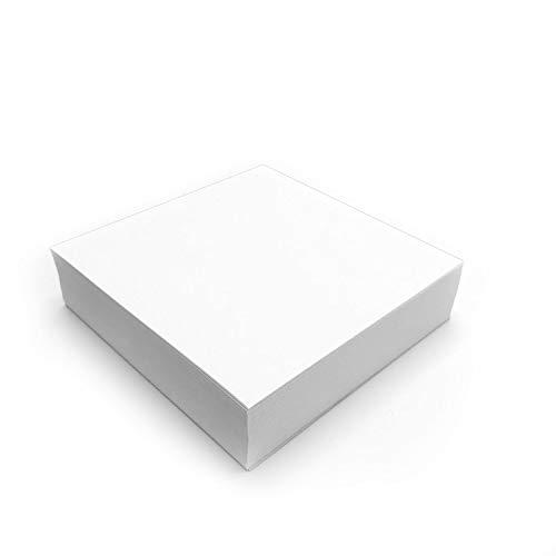 younikat Ersatzpapier für langanhaltenden Projektor Zeichenspaß - quadratisch I Papier-Zuschnitte in 21 x 21 cm zum Nachfüllen I 250 Blatt I dv_491
