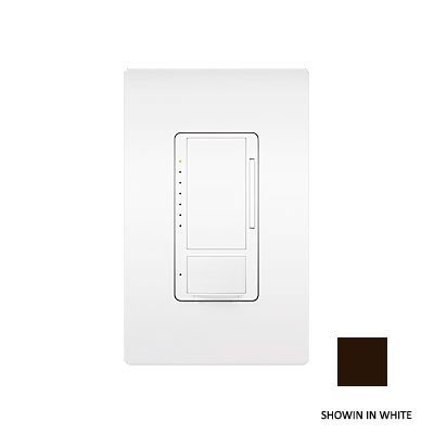 Lutron MS-OPS6M-DV-BR Maestro 6 Amp Dual Voltage Occupancy Sensing Switch, Brown by Lutron Occupancy Sensing Switch