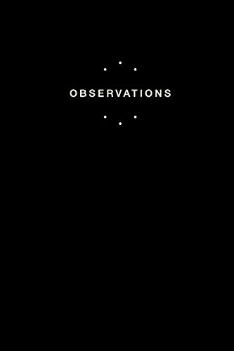 Observations: A patient observation notebook: Quickly and easily write patient notes on the go