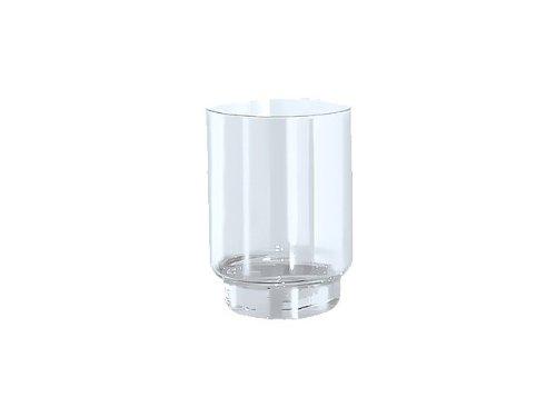 Keuco Plan Ersatzglas Acrylglas (ohne Glashalter, Durchmesser 66 mm, einfache Reinigung) 00850000100 - Glas-zahnputzbecher