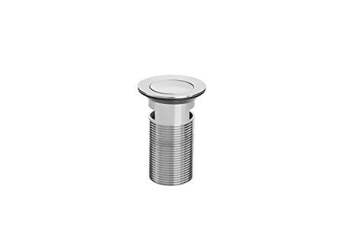 Bristan W BASIN03 C Bonde de vidage pour lavabo avec bonde en ABS Chromé, Clicker
