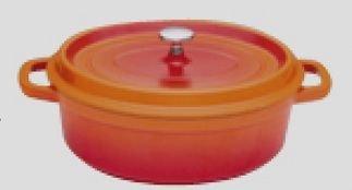 Générique XB-0631A2 Cocotte Ovale Rouge 31 cm