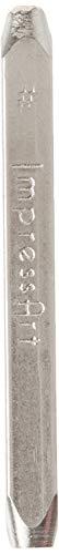 ImpressArt Hashtag Design Stempel 3mm (Kit Stamping Schmuck Metall)