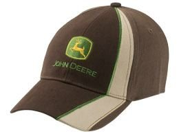 john-deere-cappellino-racing-marronebeige