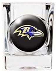 Personalized Gift Personalized NFL Shot Glass NFL Team: Baltimore Ravens by Personalized JDS Gifts